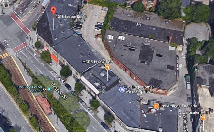 #1 Safe outdoor parking spot @ Coolidge Corner