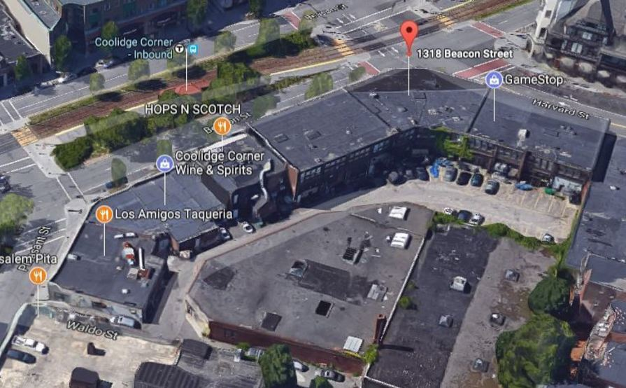 #2 Safe outdoor parking spot @ Coolidge Corner