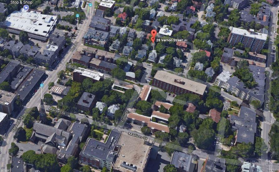 #2 Safe backyard parking spot in Brookline
