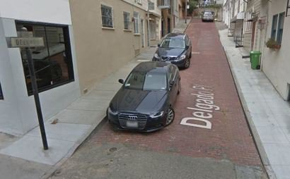 24/7 Access parking space in Russian Hill