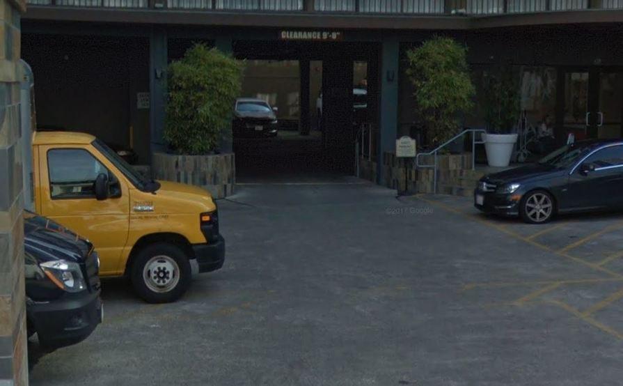 Premier parking spot in Tenderloin