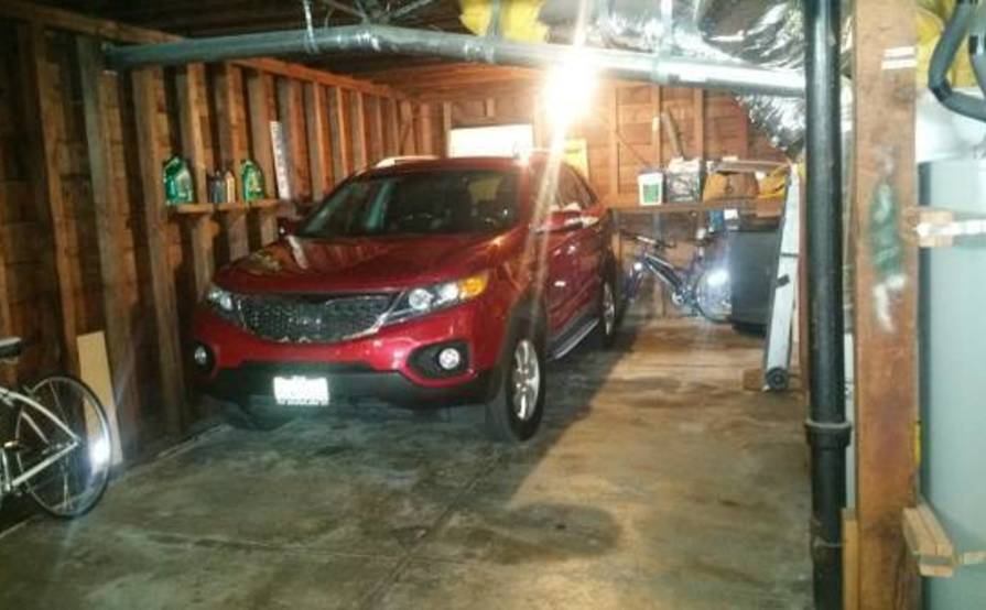 Safe garage in Daly City