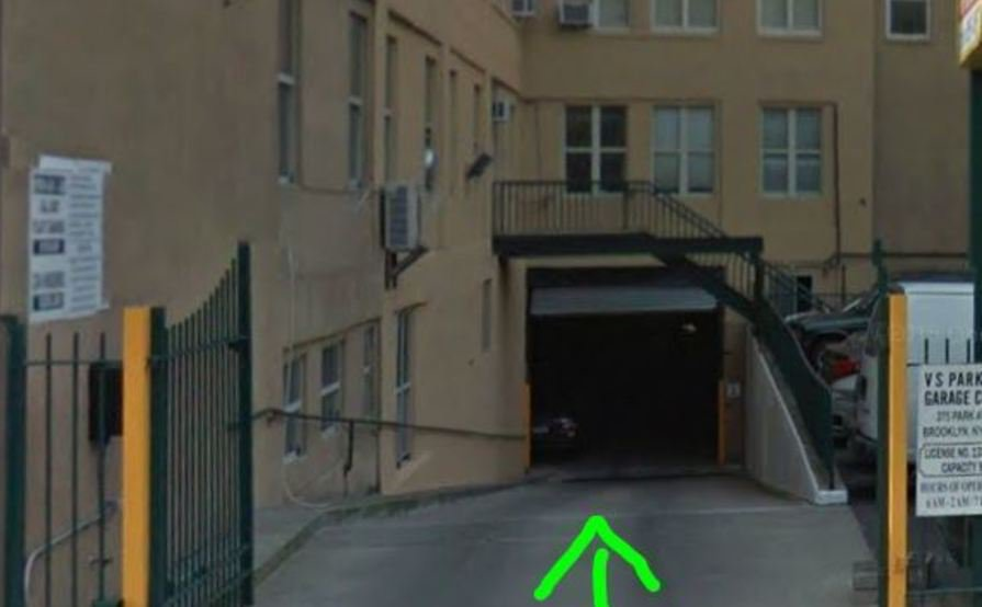 Safe garage motorcycle parking in Brooklyn