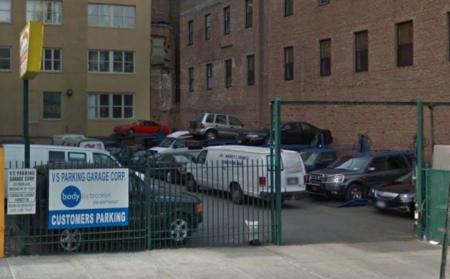 Secured Outdoor parking spot in Brooklyn