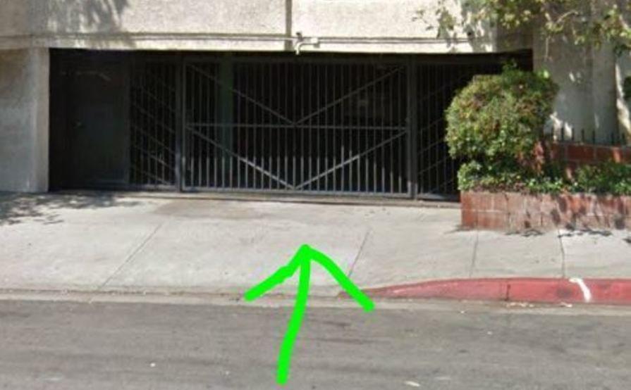 Safe parking spot in West Hollywood