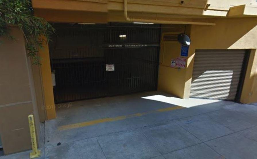 Secured Subterranean Parking Spot in Santa Monica #1