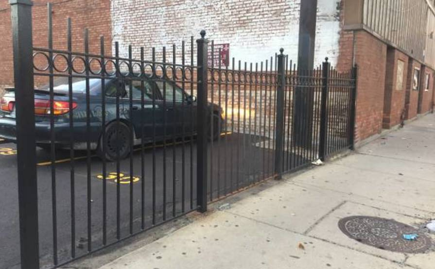 Gated parking spot in Belmont Gardens