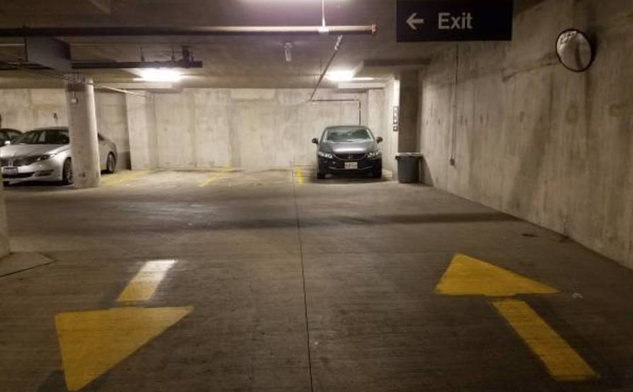 Nice Indoor parking spot in the South Loop