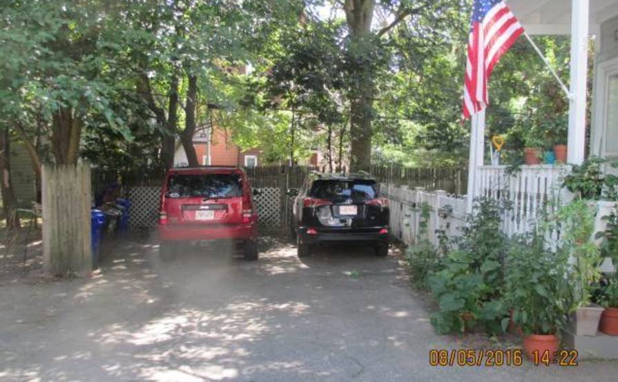 Non-Tandem parking space in Brookline