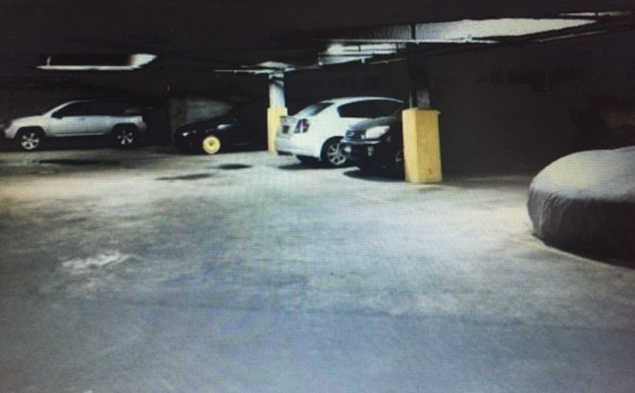 Indoor parking close to JC penny mall.