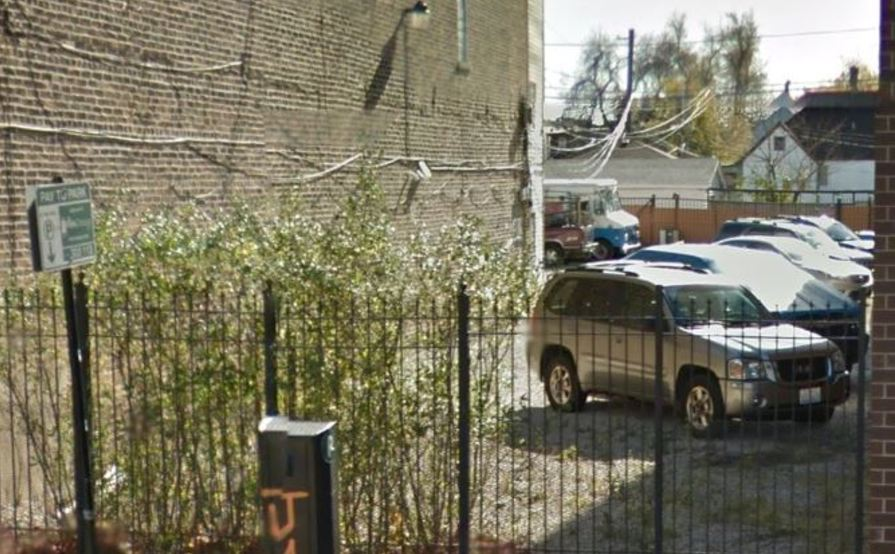 Great spot for parking space in Logan Square