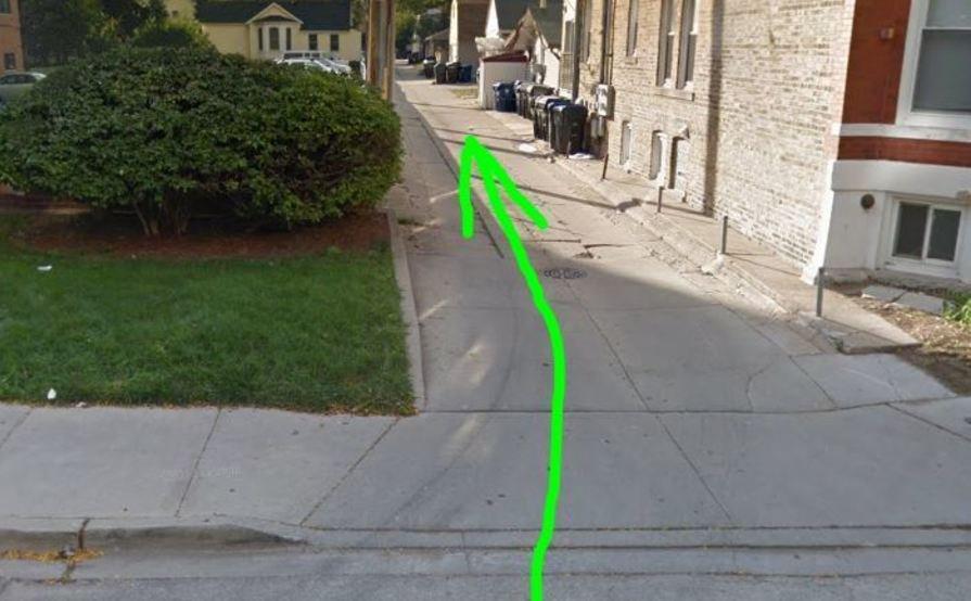Secure garage parking space in Evanston