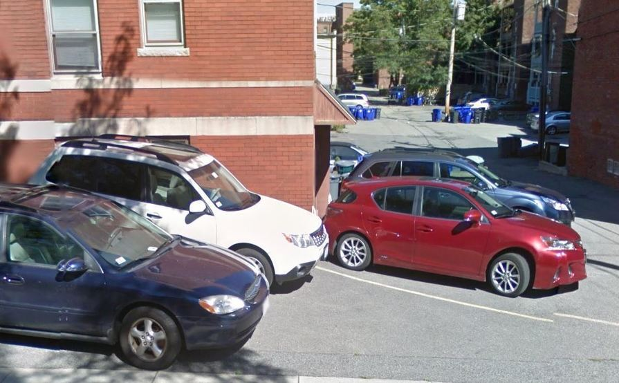 #2 Safe and Secure Tandem parking space in Brookline