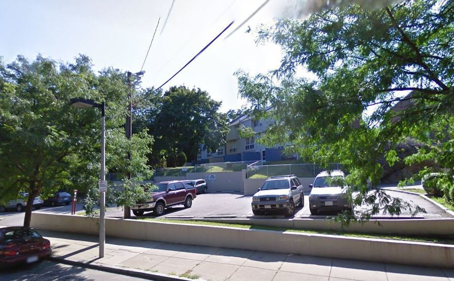 Great spot for parking in Roxbury