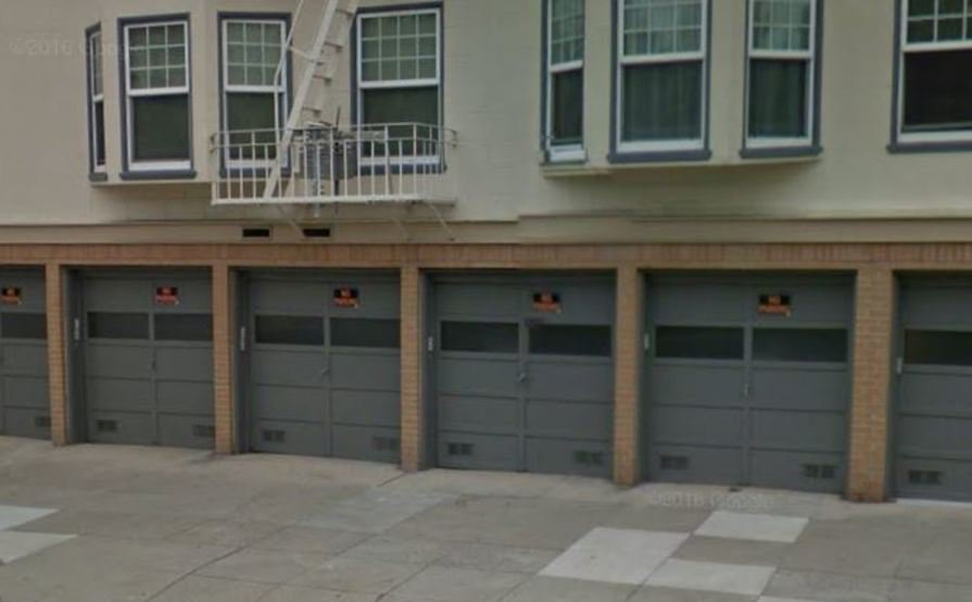 Secure garage spot in Cow Hollow