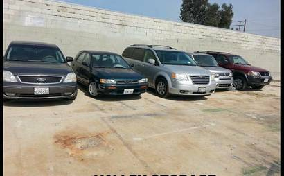Affordable and accessible parking space in North Hollywood