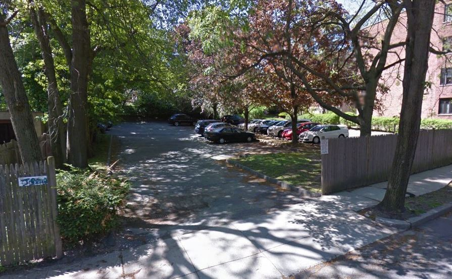 Private parking space in Brookline