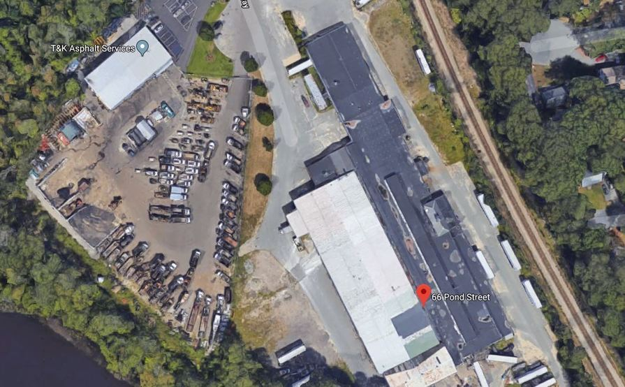 Open Parking space for Trucks in Whitman