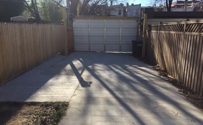 Columbia Heights Parking - Garage Door/Floodlights/Security Camera