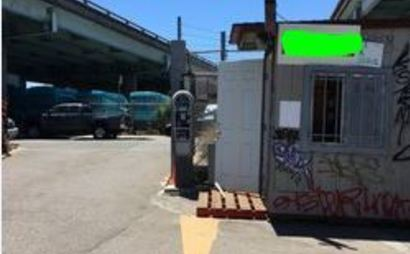 Truck parking space for rent south of market | Spacer