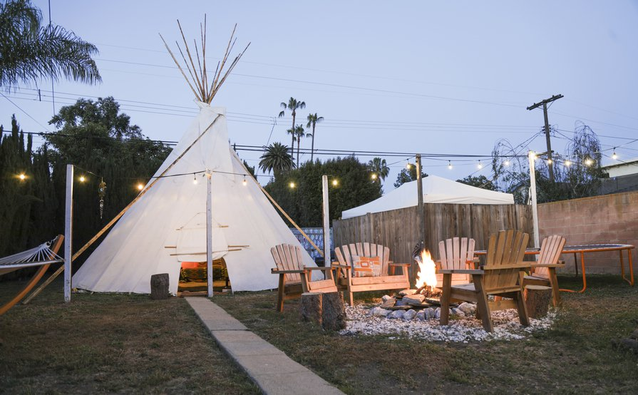 Teepee Sanctuary in Mar Vista
