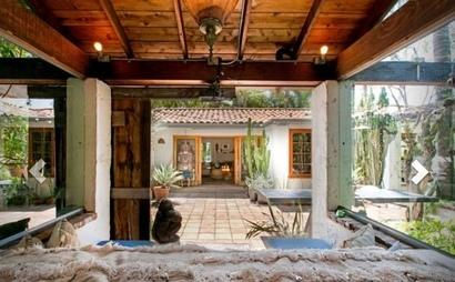 Warm Spanish Hacienda home and work space